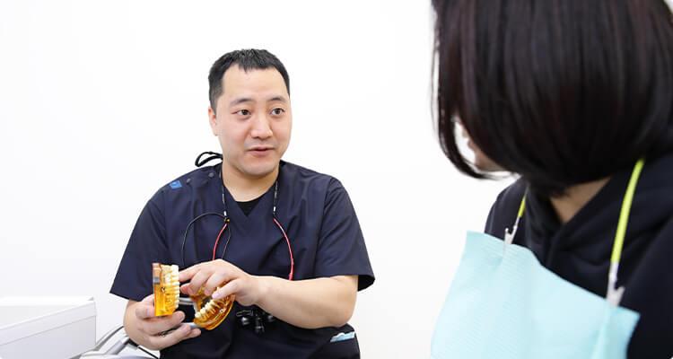 丁寧なカウンセリングと 正確な診断による保存処置